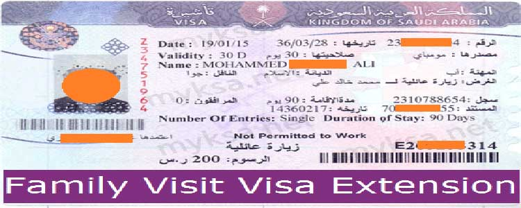 How To Extend Family Visit Visa In Saudi Arabia | 2020 | MyKSA