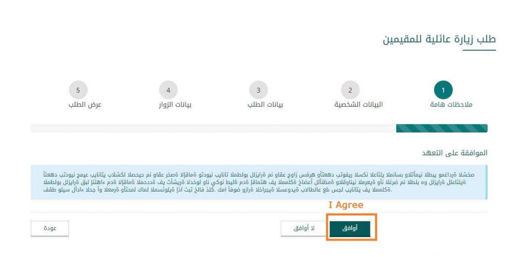 visit visa form saudi arabia