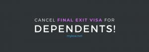 final exit visa cancellation