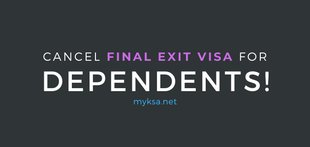 final exit visa cancellation