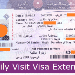 Latest Procedure To Extend Family Visit Visa In Saudi Arabia | 2019 | MyKSA
