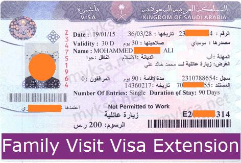How To Extend Family Visit Visa In Saudi Arabia | 2020 | MyKSA