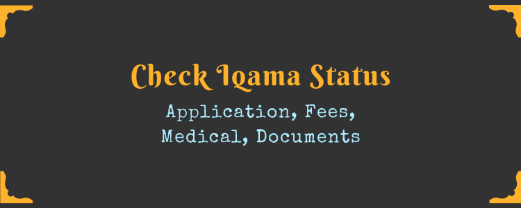 How To Check Status Of Iqama Application |Simple Procedure | MyKSA