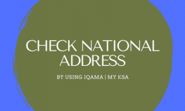 National Address Checking In Saudi Arabia